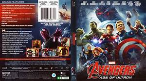 Avengers Age of Ultron blu-ray cover (2015)