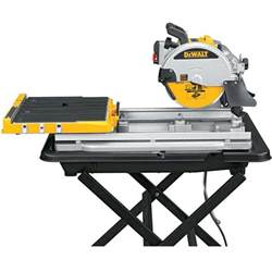 dewalt d24000k tile saw stand diamond blade kit