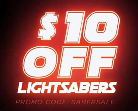 lightsabers thinkgeek promo code