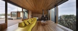 wood interior homes geometric house with zinc exterior wood interior modern house designs