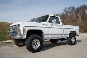 1979 Chevrolet K10 4 Wheel Drive Pickup Very Original