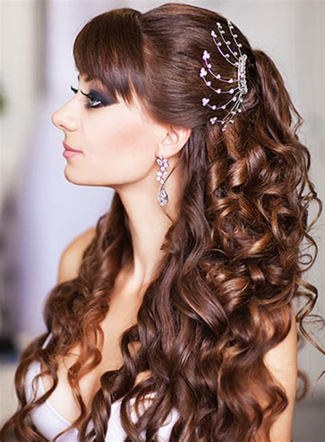 beautiful bridal hairstyle