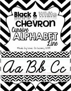Cursive alphabet, Alphabet line and Chevron on Pinterest