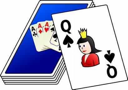 Cards Deck Clip Onlinelabels Svg