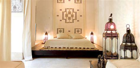 marocain la chambre riad tchaikana une décoration marocaine épurée
