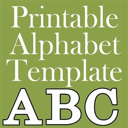 Alphabet Letters Printable Letter Templates Cut Printables