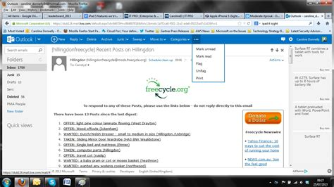 email print image gallery hotmail email screen