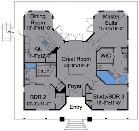 Simple Simple Bungalow Floor Plans Ideas by Type Of House Bungalow House Plans