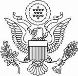 Coloring Seal States United President Flag Presidents Dc Government Drawing Colouring Guatemala Washington Paschal Candle Template Wa Popular Sketch Coloringhome sketch template