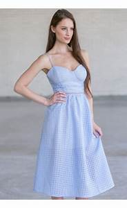 Sky blue sundress - Dress on sale