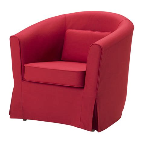 tullsta chair cover nordvalla red ikea