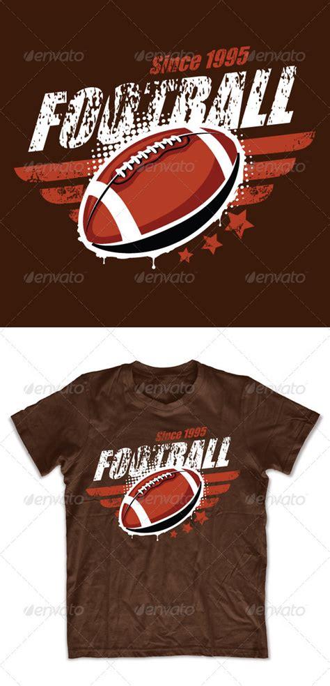 grunge football  shirt design  seniors templates