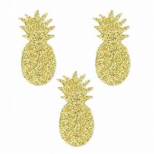 Ananas Deco Argent : motifs thermocollants miniatures mme mlle 18 mm ananas dor x30 perles co ~ Teatrodelosmanantiales.com Idées de Décoration