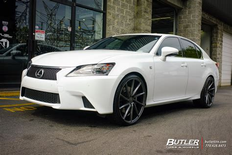 lexus rims 22 lexus gs with 22in vossen cvt wheels exclusively from