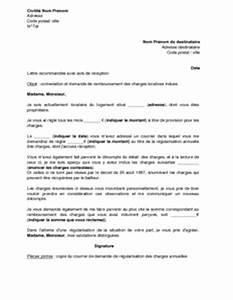 Contestation Fourriere Remboursement : lettre de contestation des charges locatives et de demande de remboursement des charges indues ~ Gottalentnigeria.com Avis de Voitures