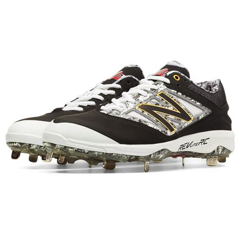 balance  dustin pedroia mens baseball cleat lv