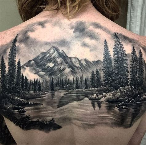 Landscape Tattoo Inkstylemag