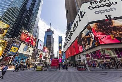 Square Times Advertising Coronavirus Ad Marketing Manhattan