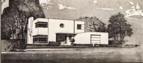 streamline moderne house plans home design and style