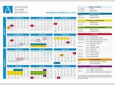 UNEATLANTICO publica el calendario académico 2015