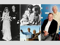 George and Barbara Bush celebrate 69th wedding anniversary