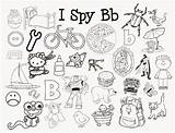 Spy Coloring Pages Sound Letter Sounds Printables Preschool Mom Alphabet Activities Beginning Games Letters Kindergarten Printable Cooties Books Hidden Ispy sketch template