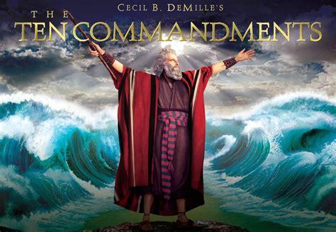 Moses And Exodus Via Hollywood