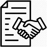 Contract Icon Law Acceptance Agreement Legal Offer