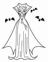 Vampire Coloring Halloween Dracula Printable Coloriage Kolorowanki Murcielagos Dibujos Wampir Hellokids Dzieci Dla Coloriages Imprimir Ausmalen Colorier Zum Imprimer Umhang sketch template
