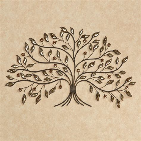 inspirations metal wall art trees  branches wall