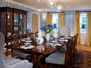 10 ways to incorporate blue into your design color With hgtv dining room decorating ideas