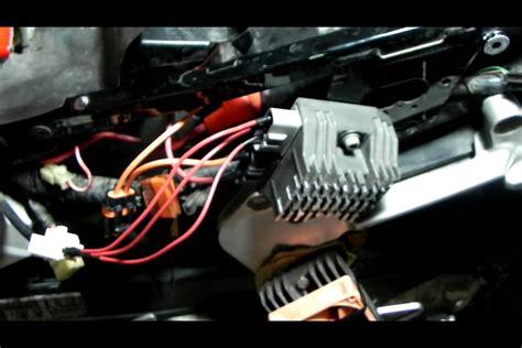 honda vfr charging system change vid 3