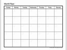 Online Calendar Planner Printable calendar month printable