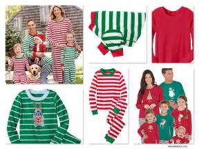 striped pjs for the whole family mommematch