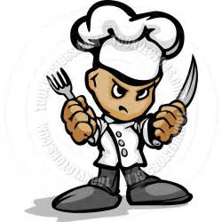asian kitchen knives tough kitchen chef with hat holding knife and