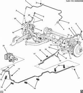 Chevrolet Equinox Retainer  Fuel Line  Hydraulic Brake Pipe  Pipesnap