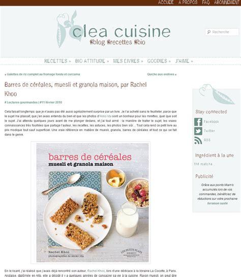 clea cuisine granola archives khoo
