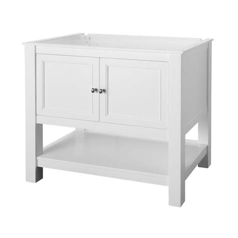 36 white vanity cabinet home decorators collection gazette 36 in w bath vanity