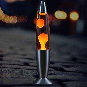 25w Flowing Volcano Lava Lamp Led Metal Wax Lamps Creative