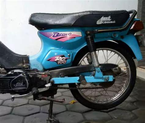 Suzuki Rc 100 Modifikasi by Modifikasi Suzuki Rc 100 Bravo Bebek Kencang Zaman Doeloe