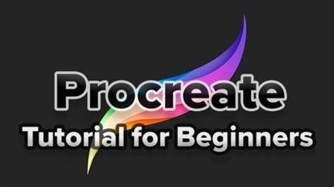 procreate tutorial  beginners  art  design hildurko