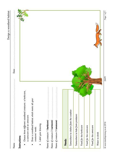 worksheet habitat worksheets worksheet worksheet