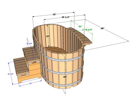 cedar soaking tub ofuro tubs specifications wooden ofuros