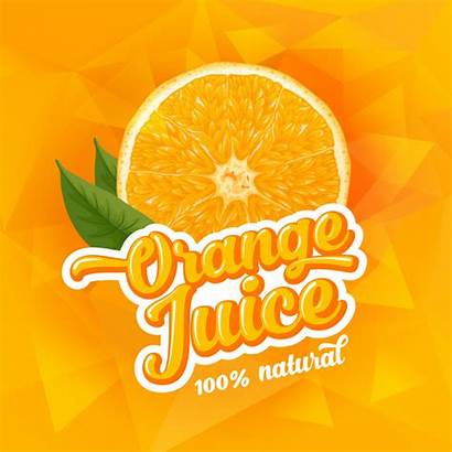 Juice Poster Orange Ad Template Vector Jus