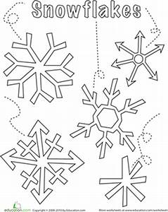snowflake method template - snowflake worksheet