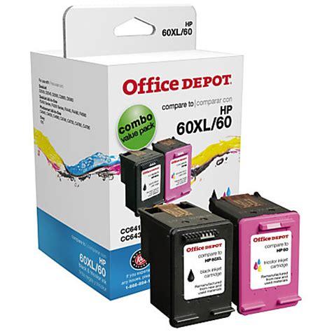 Office Depot Inc by Office Depot Brand Od60xlk60c Hp 60xl60 Remanufactured