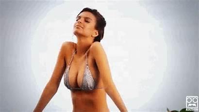 Swimsuit Emily Ratajkowski Illustrated Sports Bikini Giphy