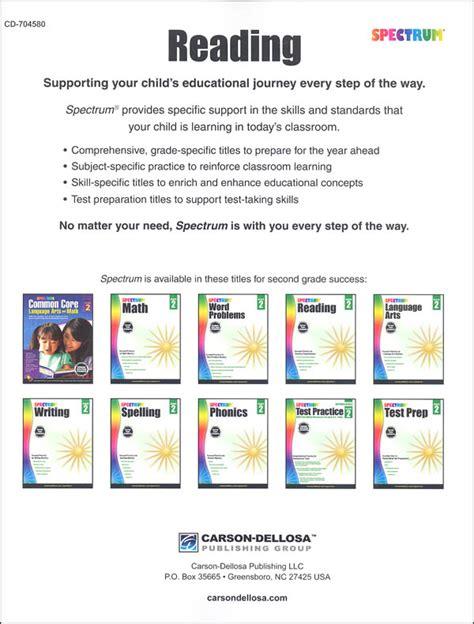 Spectrum Reading 2015 Grade 2 (001714) Details  Rainbow Resource Center, Inc