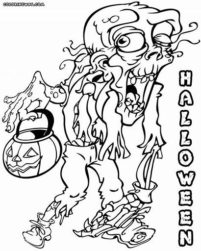 Scary Halloween Coloring Pages Colorings
