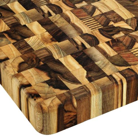 cutting board grain end teak mario batali madeira square inch round brand related items cutleryandmore